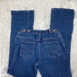 9d1717333b3a7 Liz Lange for Target Jeans - Liz Lange Adjustable Flare Maternity Jeans  Size 6